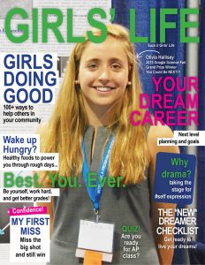Girls' Life mock cover - the version that would be so much more helpful and beneficial for teenage girls